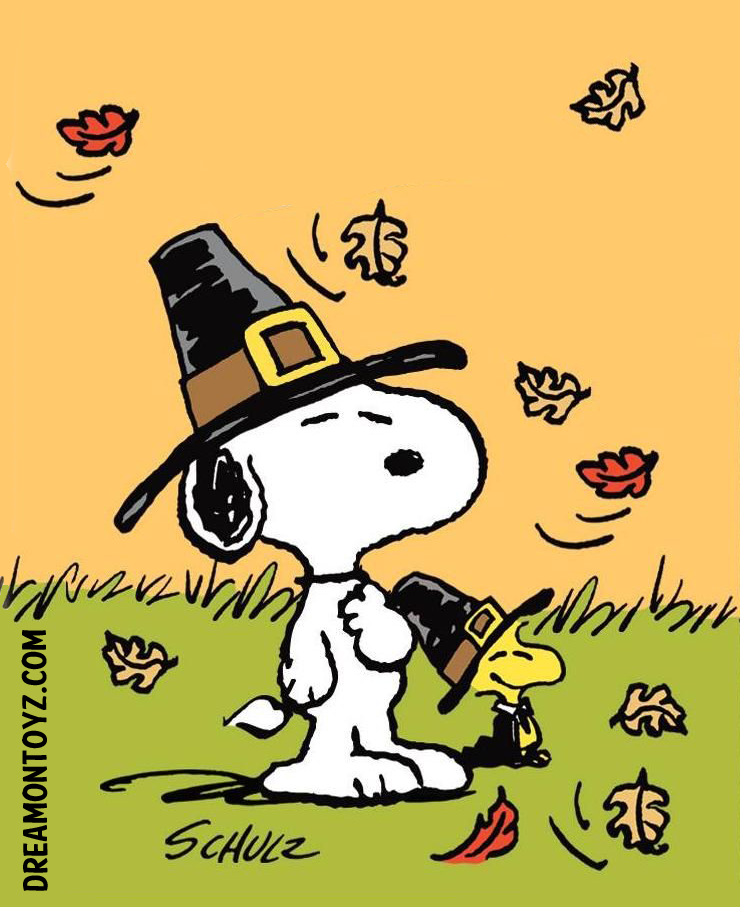 Photographs Peanuts Snoopy An - Snoopy Thanksgiving Clip Art