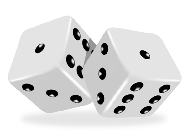 Photos of dice clipart free clipart images image