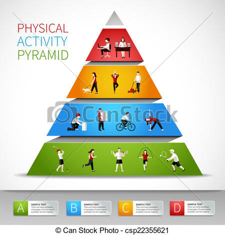 ... Physical Activity Pyramid Infographi-... Physical activity pyramid infographic - Physical activity.-13