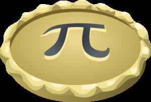 Pi pie clip art at vector clip art
