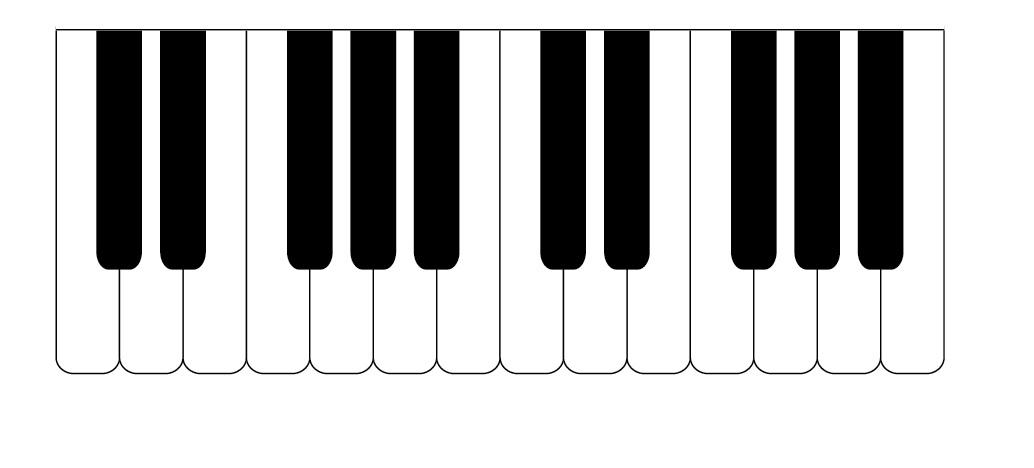 piano keyboard clipart-piano keyboard clipart-9