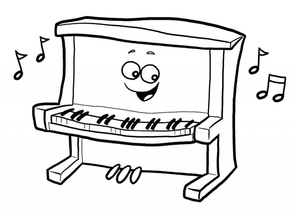 Piano Clip Art Cartoon Piano .-Piano Clip Art Cartoon Piano .-4