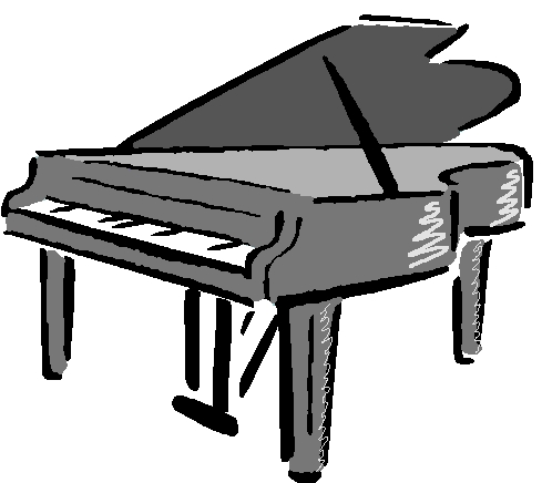Piano Clipart Black And White Clipart Pa-Piano Clipart Black And White Clipart Panda Free Clipart Images-9