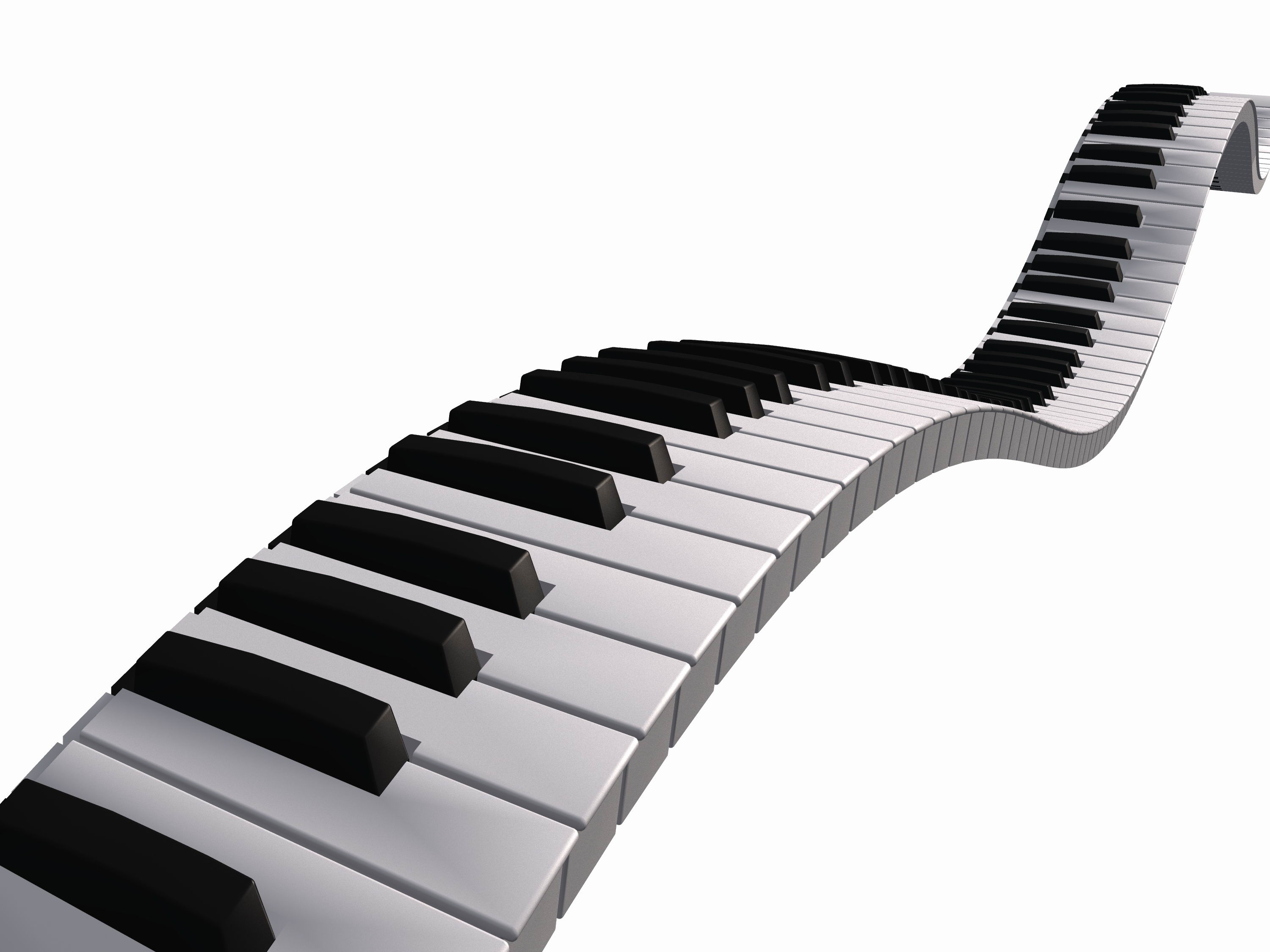 Piano Keyboard Clip Art ..