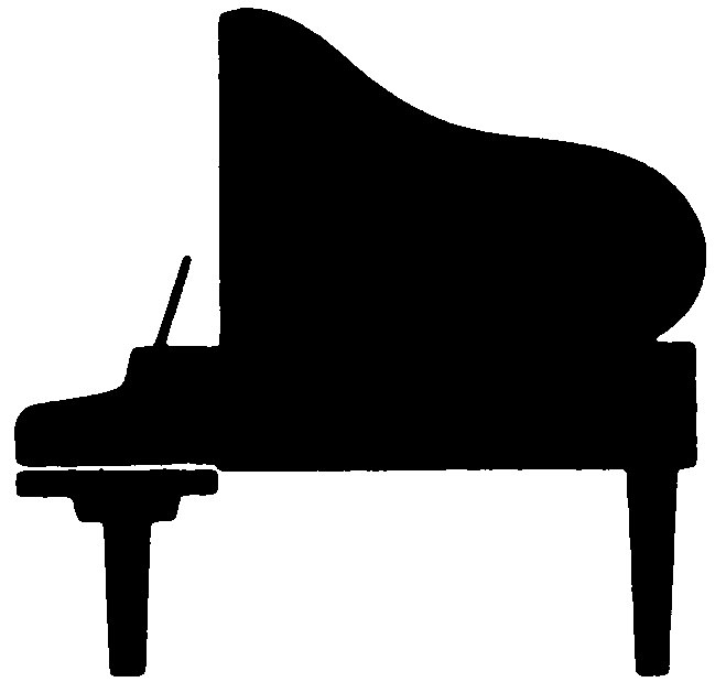Piano Keyboard Clipart Black And White | Clipart library - Free