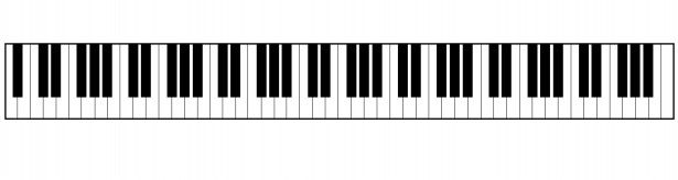 Piano Keyboard Clipart Free Stock Photo Pictures
