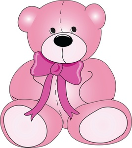 Pic free clip art baby teddy .