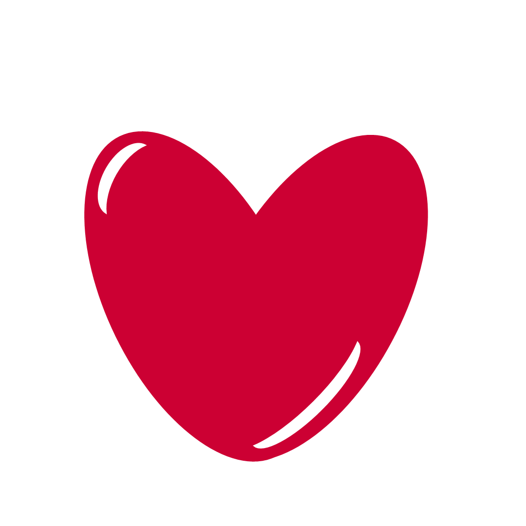 Pic Of Red Heart - Clipart library