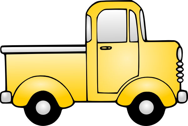 Pickup Truck Clipart Outline-pickup truck clipart outline-6