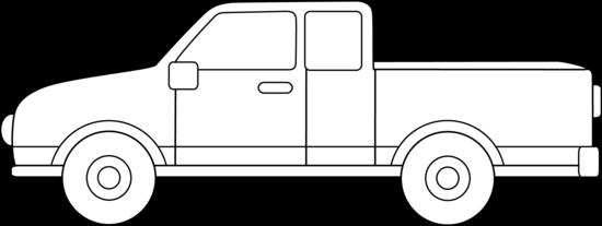 Pickup truck clip art - ClipartFest