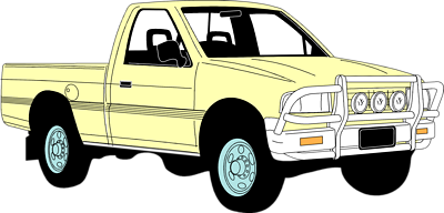 Pickup Truck Clipart Black And White | Clipart library - Free. yikBz7riE.png
