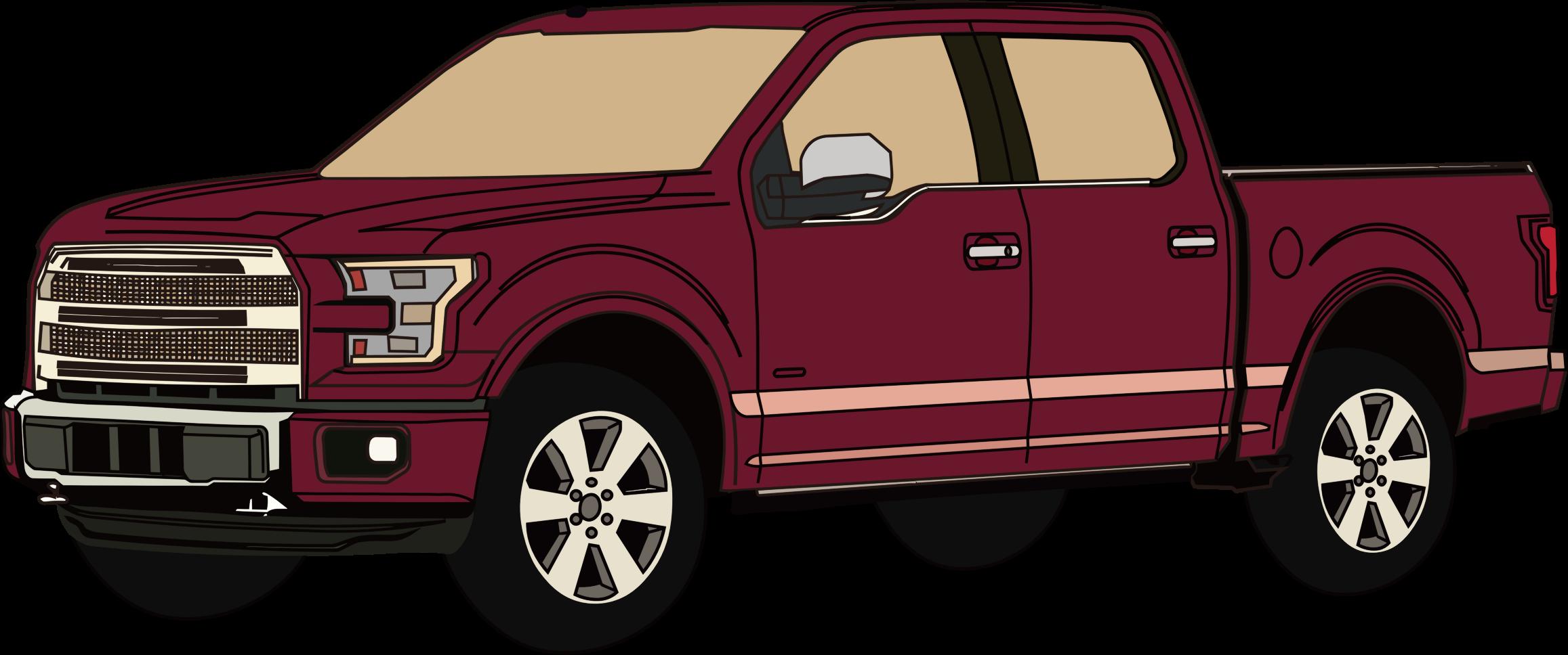 Pickup truck clipart - ClipartFest