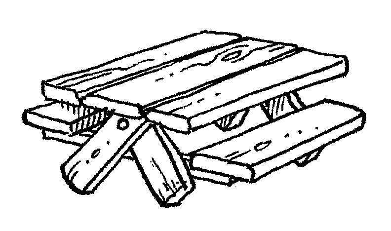 Picnic Table Clip Art-picnic table clip art-7