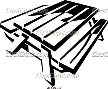 Picnic Table Clipart-picnic table clipart-8
