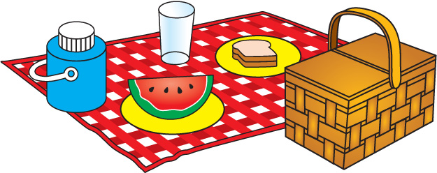 Picnic Clip Art Black And ..-Picnic Clip Art Black And ..-13
