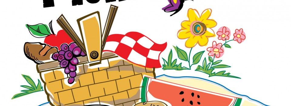 Picnic clipart clipart ... Resolution 960x350 .