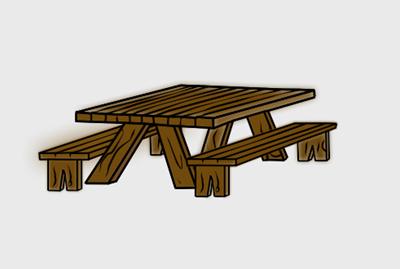 Picnic Table Clip Art Http Www Contentpa-Picnic Table Clip Art Http Www Contentparadise Com Productdetails-12