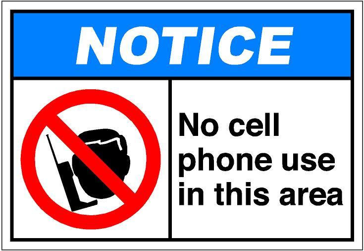 Pics Photos No Cell Phones Allowed Clip Art