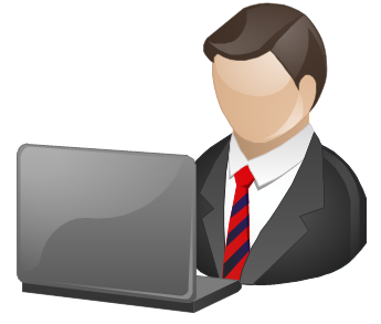Pict Manager Business People Clipart Vec-Pict Manager Business People Clipart Vector Stencils Library-15