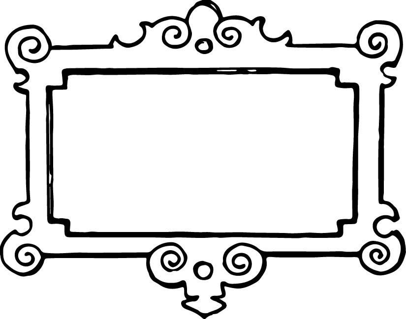 Picture Frame Clip Art Free Free Clipart-Picture frame clip art free free clipart images 2-15
