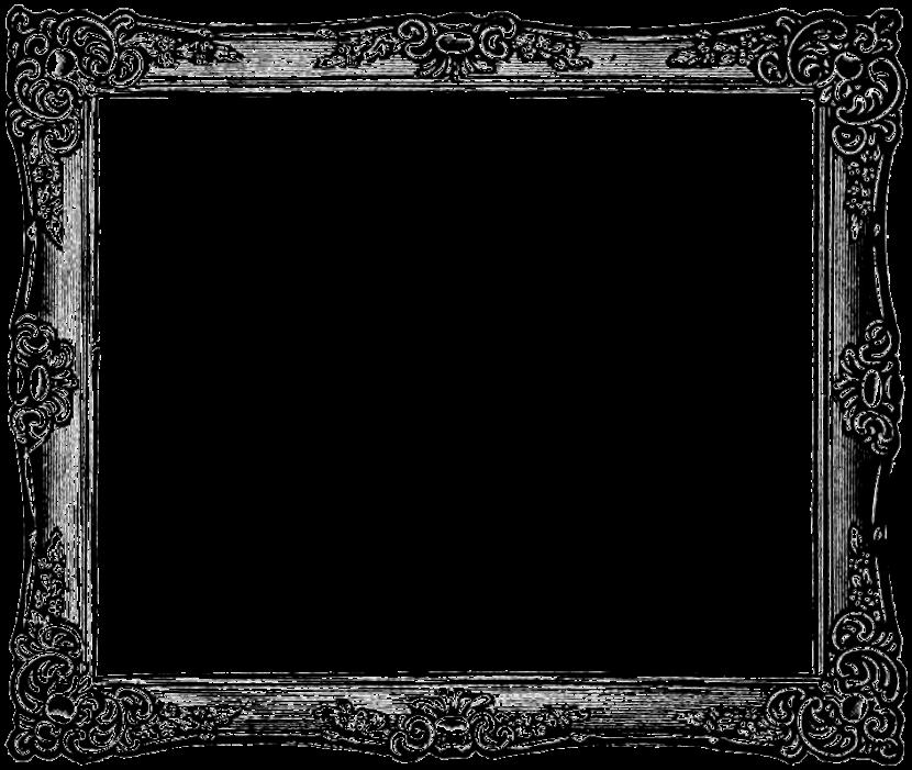 Picture frame clip art-Picture frame clip art-1