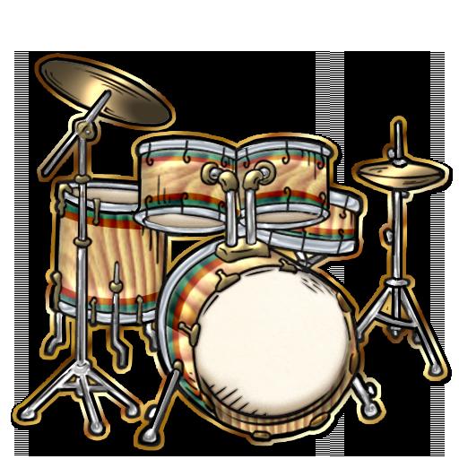 Picture Of A Drum Set. Drum Set Clipart-Picture Of A Drum Set. Drum Set Clipart-15