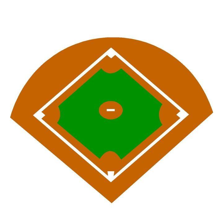 Picture Of Baseball Diamond