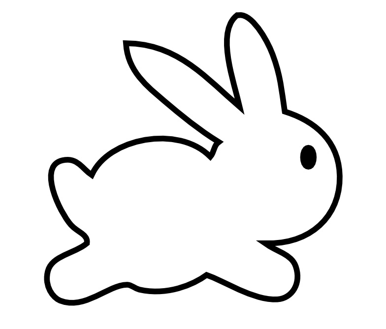 PICTURE OF BUNNY IN CLIP ART