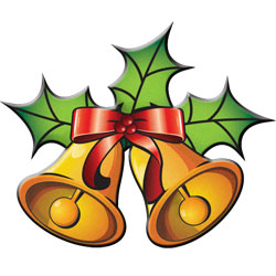 Picture Of Christmas Bells Cl - Christmas Bells Clip Art