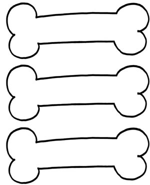 Picture of dog bone clipart