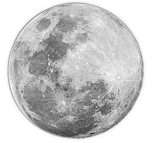 Pictures full moon clip art .