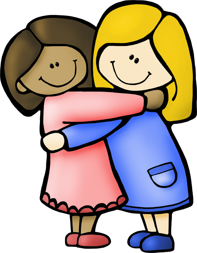 ... Pictures of best friends clipart ...