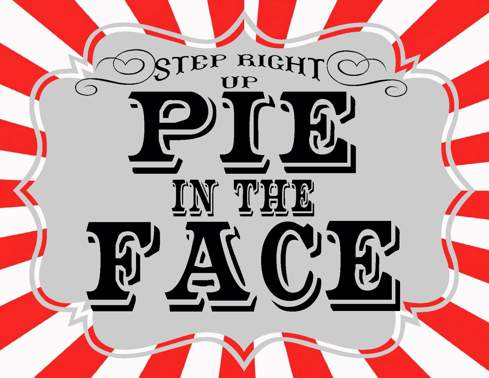 37 pie in the face clip art clipartlook