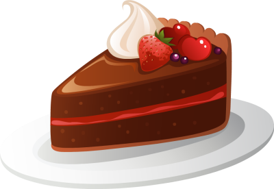 Piece Of Cake Clipart #1