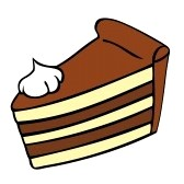 Piece Of Cake Clipart .