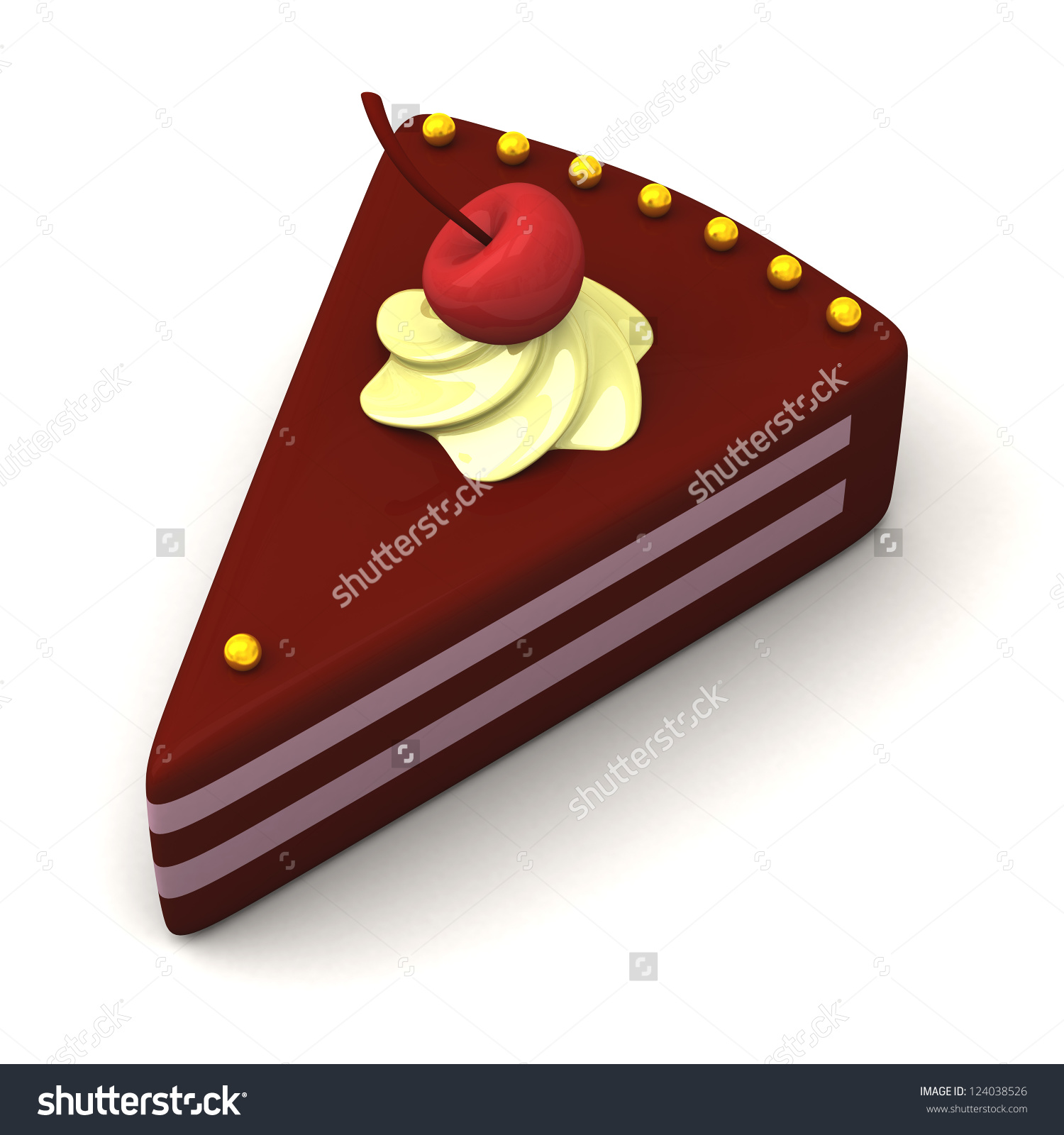 Piece of Cake Idiom Clip Art