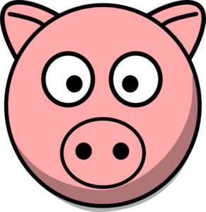 pig face clipart-pig face clipart-2
