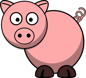 Pig Clip Art At Clker Com Vector Clip Art Online Royalty Free