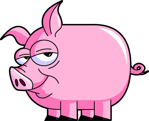Pig Clip Art Character | Clipart library - Free Clipart Images