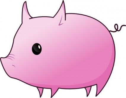 Pig clip art Vector clip art - Free vect-Pig clip art Vector clip art - Free vector for free download-19