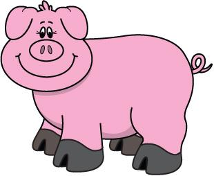 Pig clipart free clipart .-Pig clipart free clipart .-9