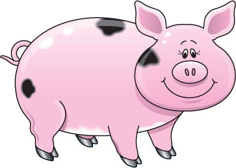Pig clipart free clipart .-Pig clipart free clipart .-2