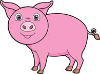 pig clipart. Size: 57 Kb - Pig Images Clip Art
