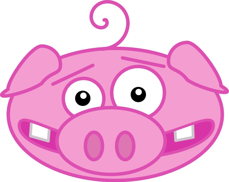 Pig Face Png-Pig Face Png-10
