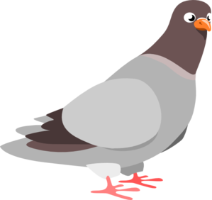 Pigeon Clip Art-Pigeon Clip Art-1