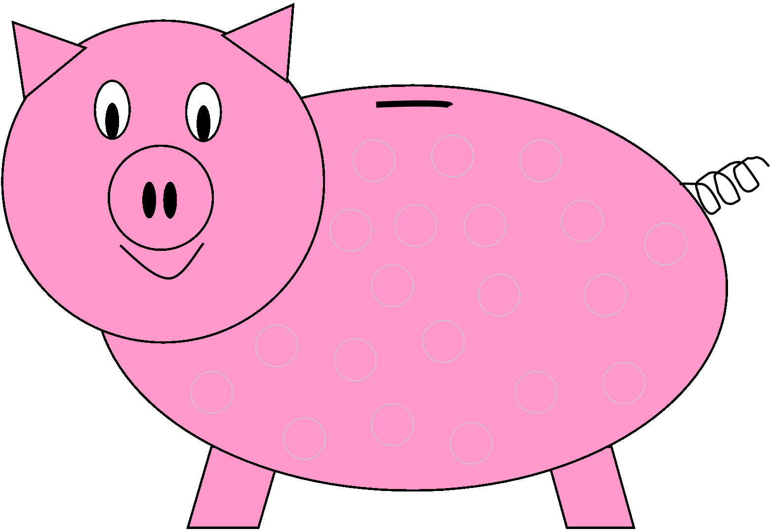 Piggy Bank Bank 3 Clipart-Piggy bank bank 3 clipart-8