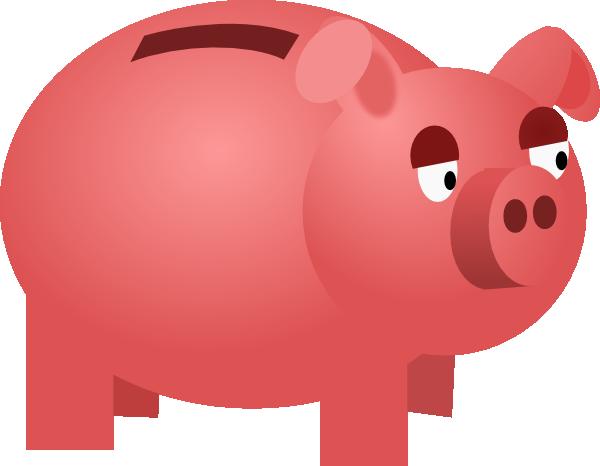 Piggy Bank Clip Art At Clker Com Vector -Piggy Bank Clip Art At Clker Com Vector Clip Art Online Royalty-9