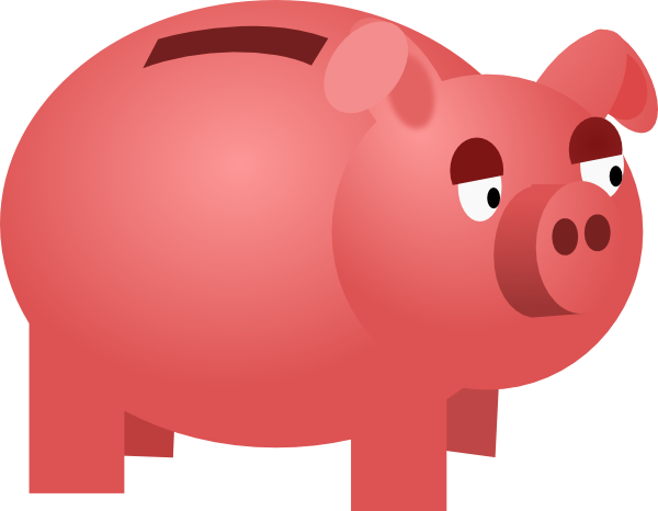 Piggy Bank Clip Art At Clker Com Vector -Piggy Bank Clip Art At Clker Com Vector Clip Art Online Royalty-9