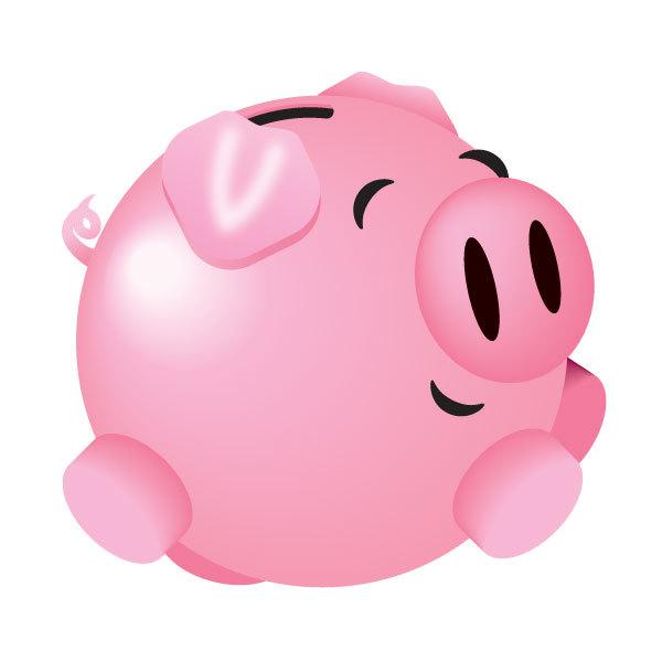 Piggy Bank Clip Art Clipart 4-Piggy bank clip art clipart 4-11