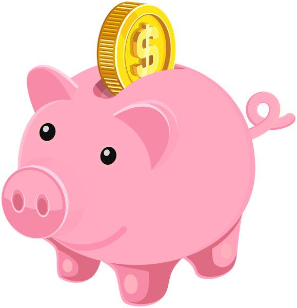 Piggy Bank Clip Art Image-Piggy bank clip art image-12